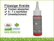 rot - GreenClass Flüssigkreide Nachfüllflasche