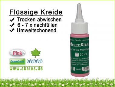 pink - GreenClass Flüssigkreide Nachfüllflasche
