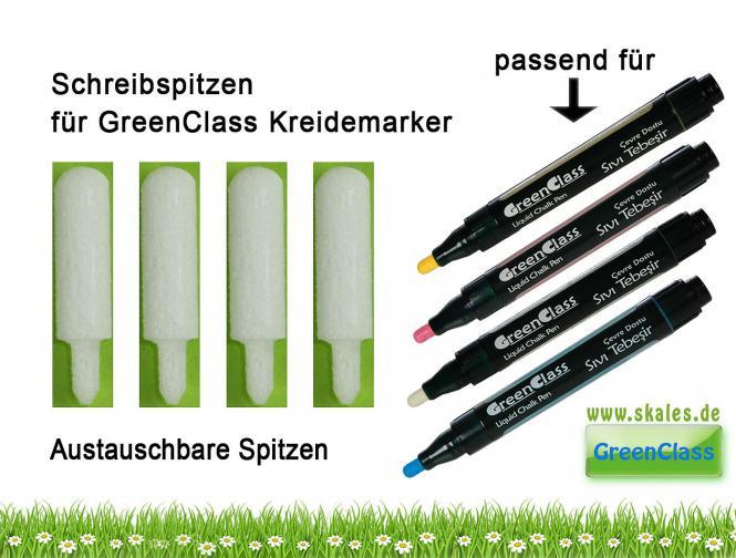 Ersatz - Schreibspitzen - Black-Green-Boards