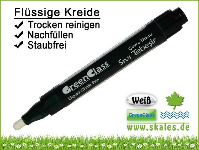 weiß - GreenClass - Kreidemarker