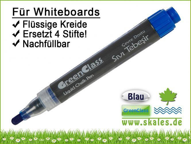 dunkelblau - GreenClass-Kreidemarker
